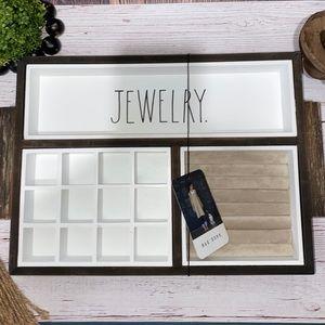 "RAE DUNN | ""JEWELRY"" Wood Jewelry Organizer"